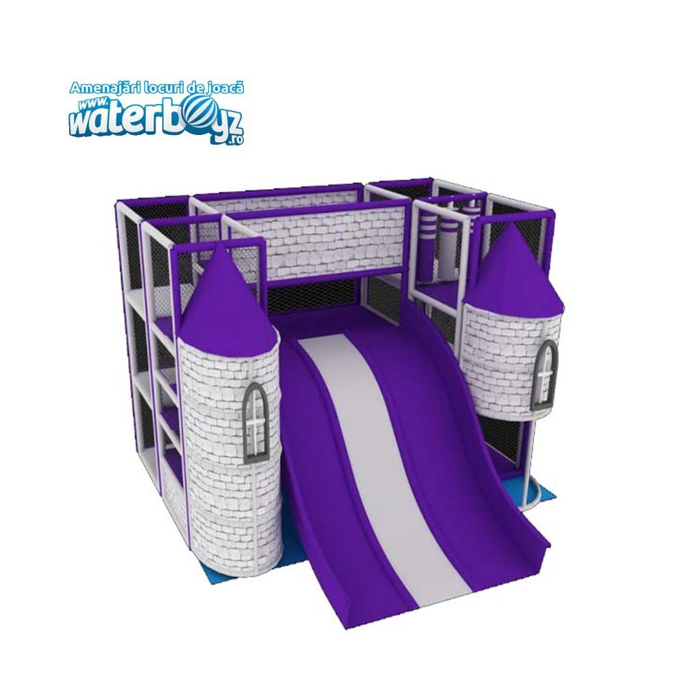 Loc de joaca modular Small Purple Dream