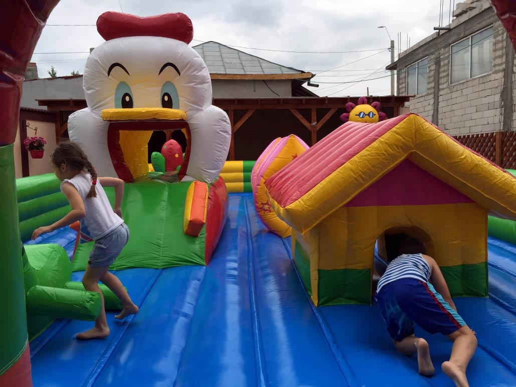 Donald Inflatable Town