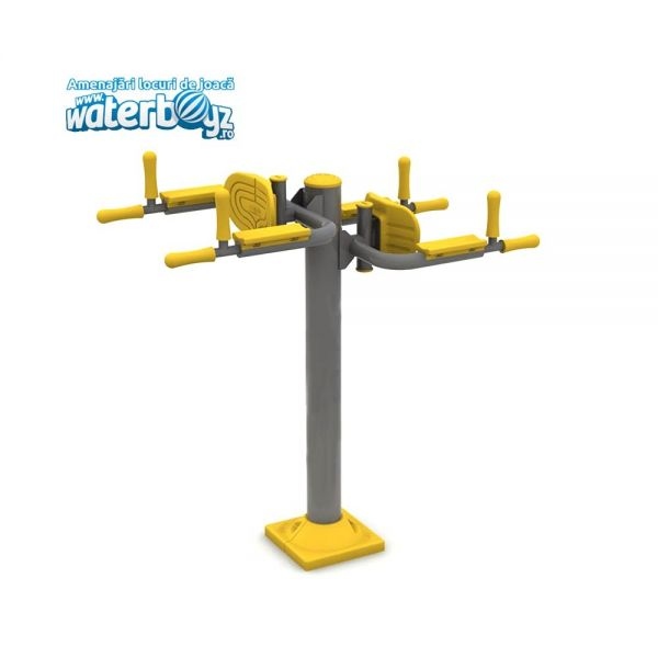 DOUBLE  FITNESS DEVICE FOR CHIN-UPS 2
