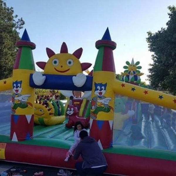 Inflatable playground model 7